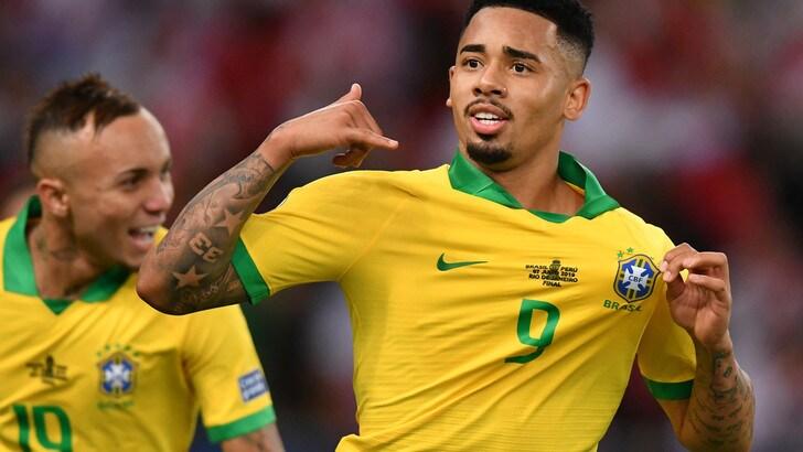 Coppa America, il Brasile si laurea campione. Perù battuto 3-1 al Maracanà