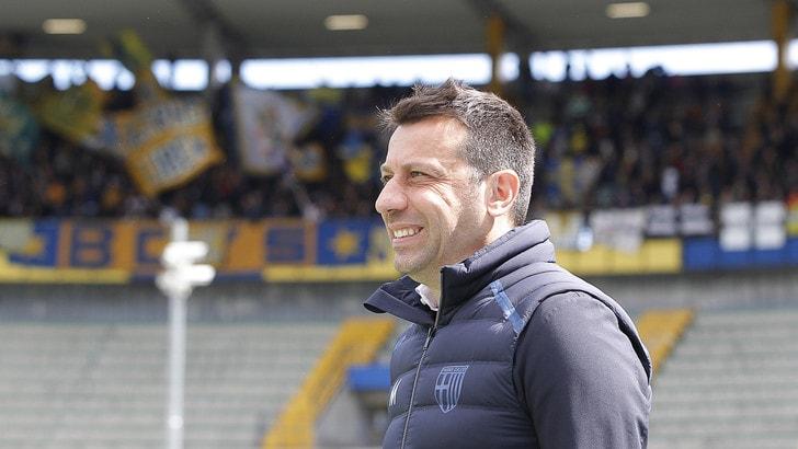 Parma, avanti con D'Aversa fino al 2022: