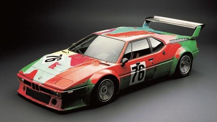 BMW M1, un mese per vedere l'auto dipinta da Andy Warhol