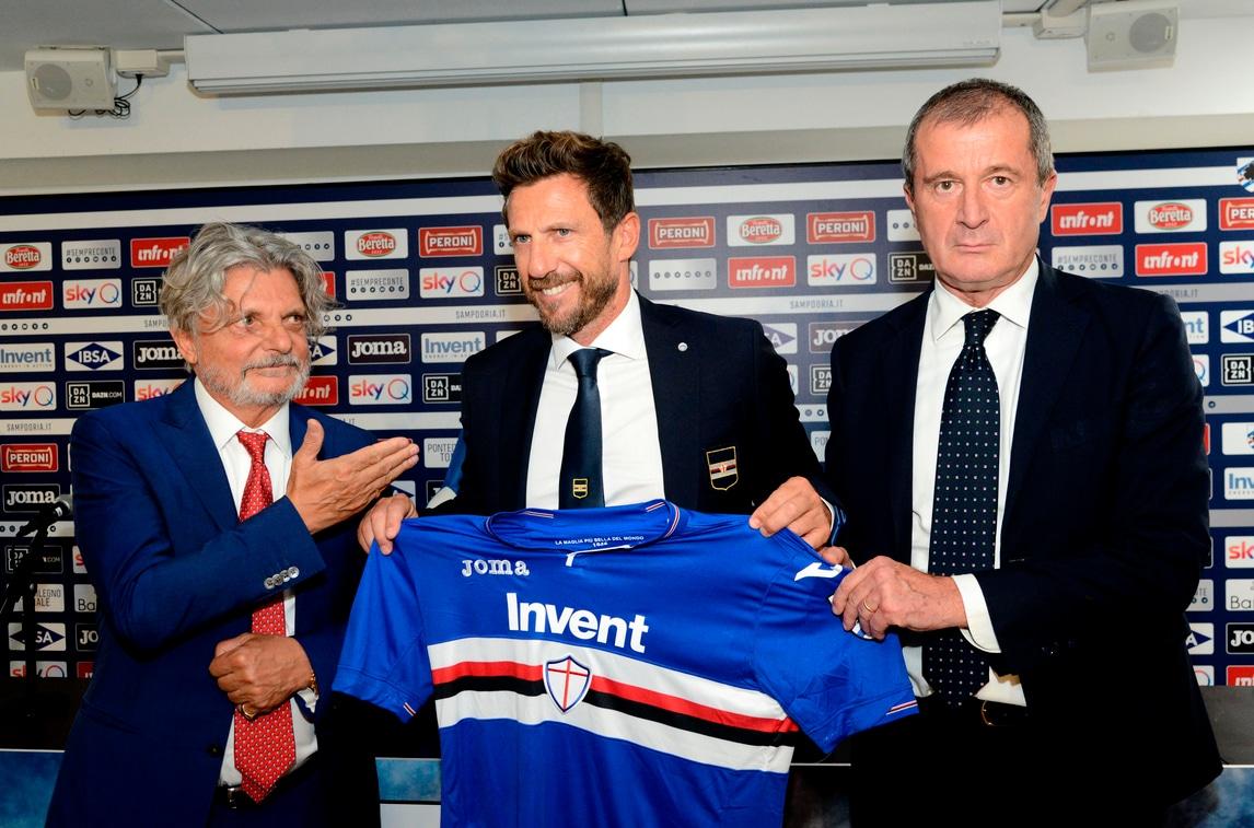 Di Francesco-Ferrero, ecco la nuova coppia della Sampdoria