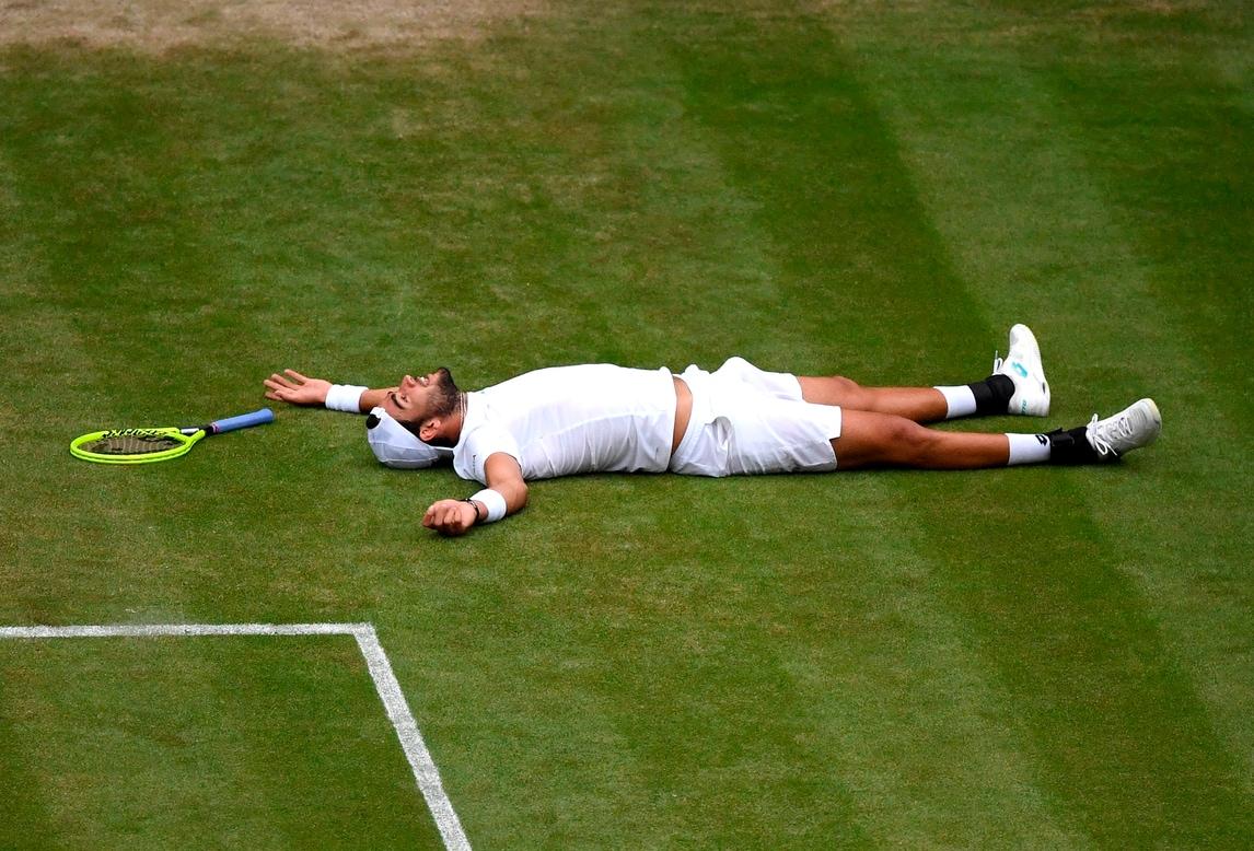 Wimbledon: troppo Federer per Berrettini