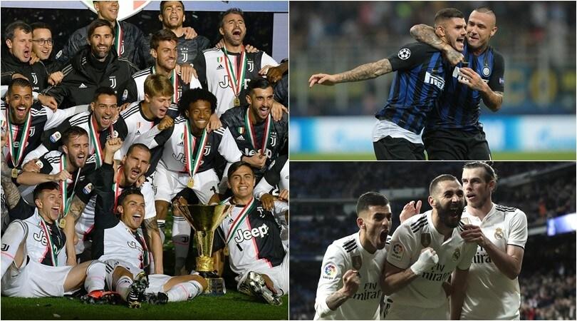 Juve ed Inter nella Top 10 dei club più spendaccioni d'Europa dal 2009