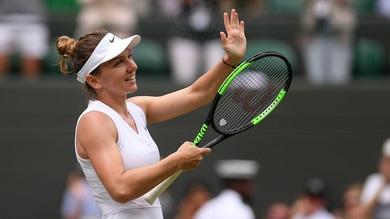 Wimbledon: Simona Halep da finale, colpo Svitolina a 2,75