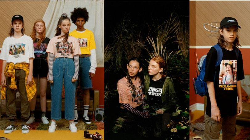 È arrivata Stranger Things 3 e la moda gli dedica delle collezioni speciali