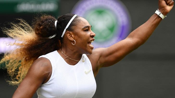 Wimbledon, Serena Williams in discesa contro la Strycova