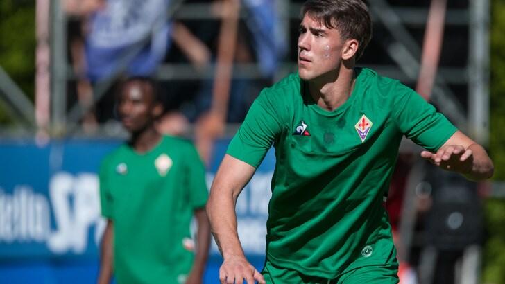 Fiorentina, il test con la Val di Fassa finisce 21-0: bene Vlahovic