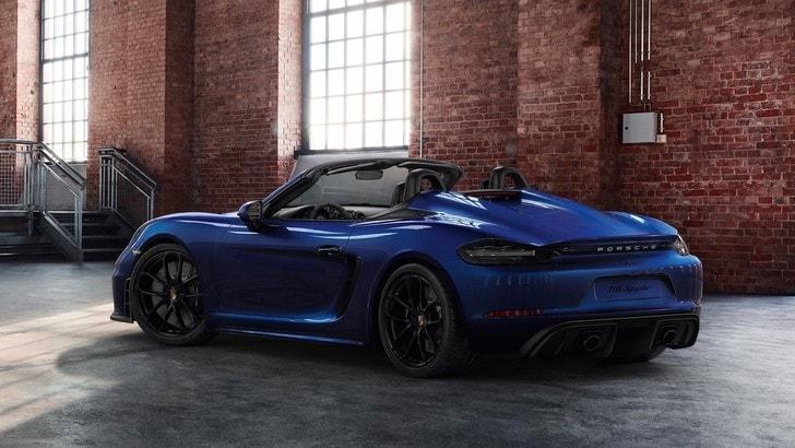 Porsche 718 Spider, con Manufaktur uno stile esclusivo