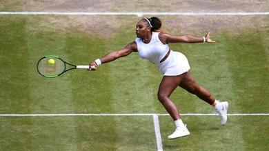 Wimbledon: in quota la Williams batte la Halep
