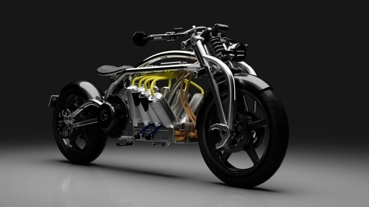 Curtiss Motorcycle Zeus Radial V8, pronta nel 2020