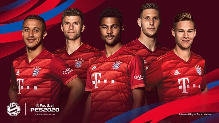 PES2020: anche il Bayern Monaco sale sulla nave di Konami
