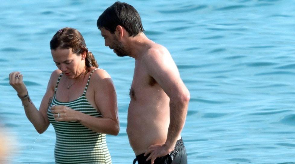 <p>Il presidente della Juve si è concesso una breve vacanza a Forte dei Marmi insieme alla compagna e alla figlia Vera</p>