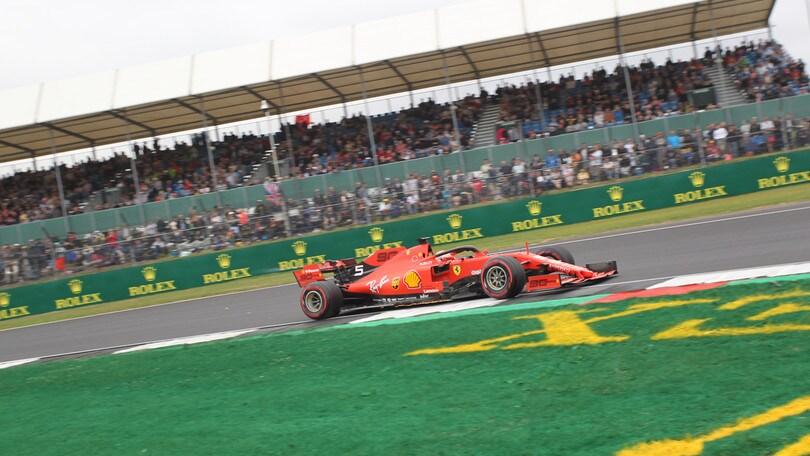 """Silverstone, Vettel sesto in qualifica: """"Mancata la velocità"""""""