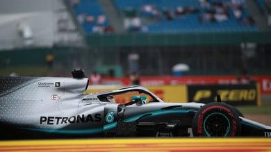 Silverstone, Hamilton secondo in qualifica: