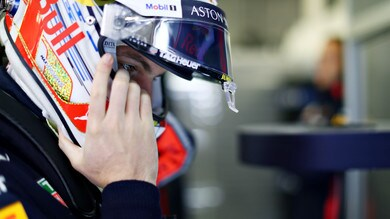 Silverstone, Verstappen: