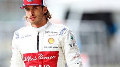 Silverstone, Giovinazzi davanti a Raikkonen:
