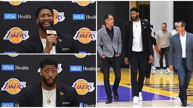 Davis presentato ufficialmente dai Los Angeles Lakers