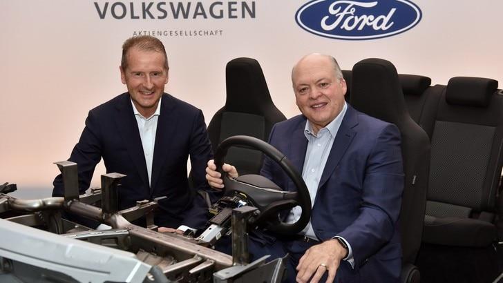 Volkswagen e Ford, l'alleanza elettrica ora è ufficiale