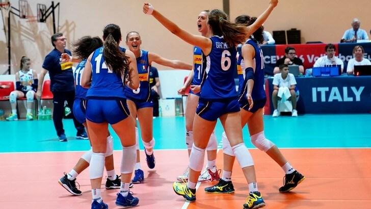 Europei U16: Altro successo per le azzurrine