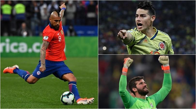 Coppa America, due ex Juventus nella Top11