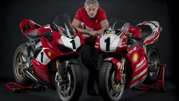 Ducati, ecco la Panigale V4 25°Anniversario per celebrare la 916