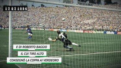 On This Day - USA 1994: Italia-Brasile