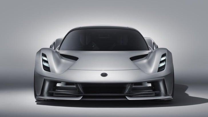 Lotus Evija: potente, leggera, hyper