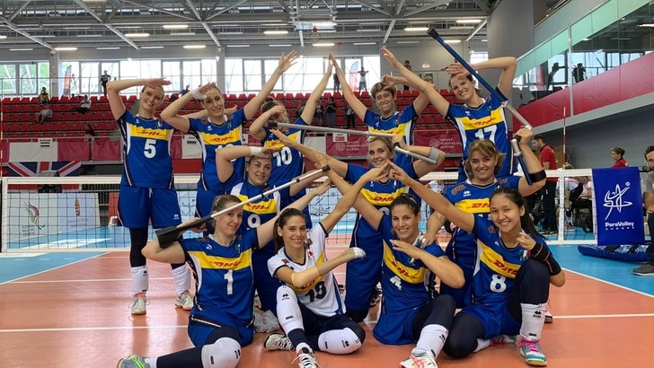 Europei sitting volley: le azzurre in semifinale