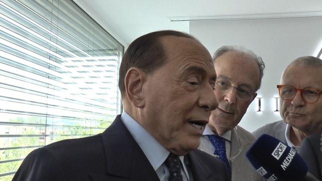 """Berlusconi: """"Milan? In bocca al lupo alla dirigenza"""""""