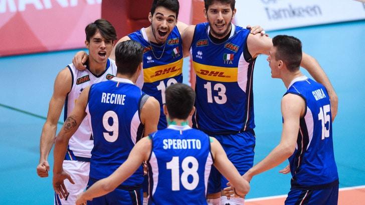 Mondiali U21: all'esordio l'Italia supera 3-0 al Canada