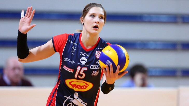 La belga Kaja Grobelna firma per Chieri