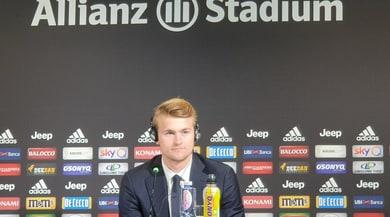Diretta De Ligt: il nuovo acquisto della Juve in conferenza stampa