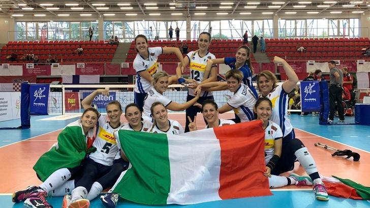 Sitting Volley: le azzurre centrano la finale e la qualificazione paralimpica