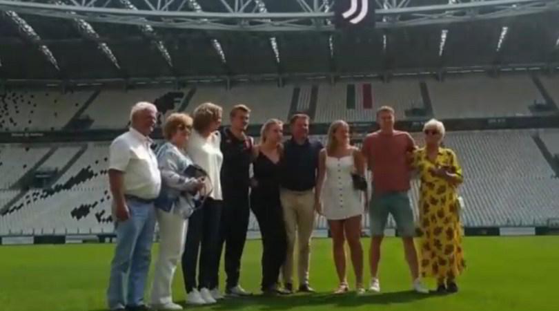 De Ligt, una Juve al bacio. Per una famiglia da Champions