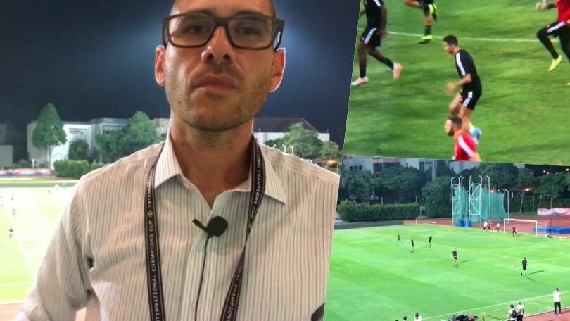 La Juve si allena a Singapore: il punto di Fabio Riva