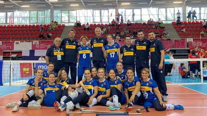 Sitting Volley: le azzurre conquistano l'argento europeo