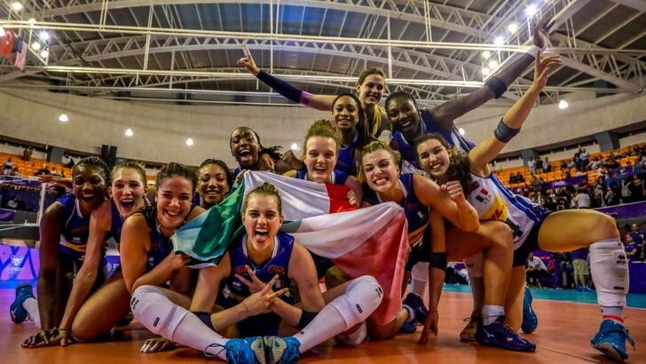 Mondiali U20: l'Italia batte la Turchia e centra la finale