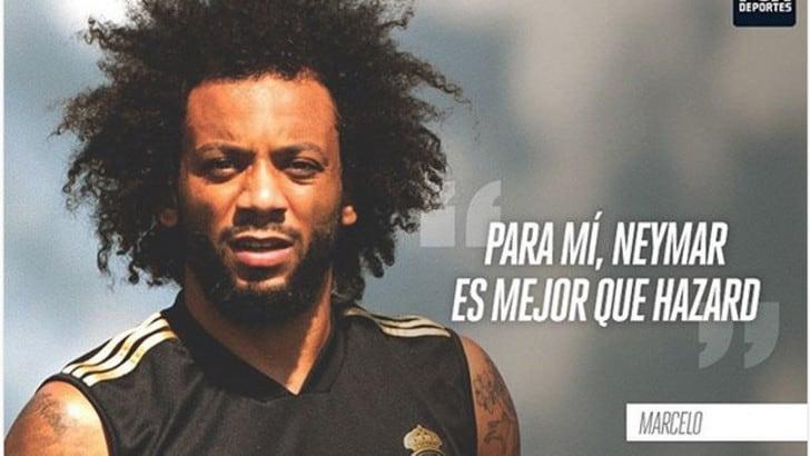 Real, che ambientino. Marcelo: «Neymar meglio di Hazard»