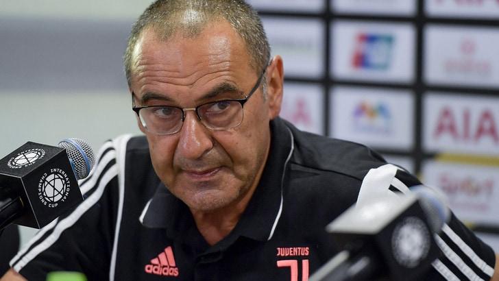 "Sarri: ""Juve-Inter partita speciale. Dybala? Anche da falso nove"""