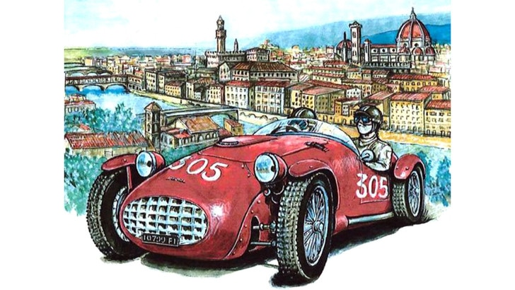 Auto e moto da corsa in mostra a Firenze