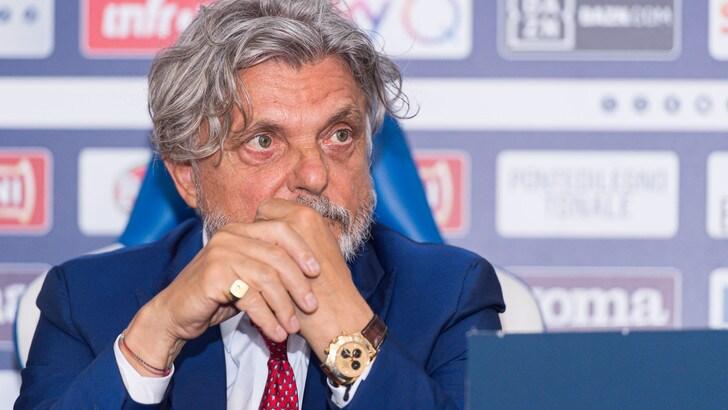 Ferrero sulla cessione della Sampdoria: