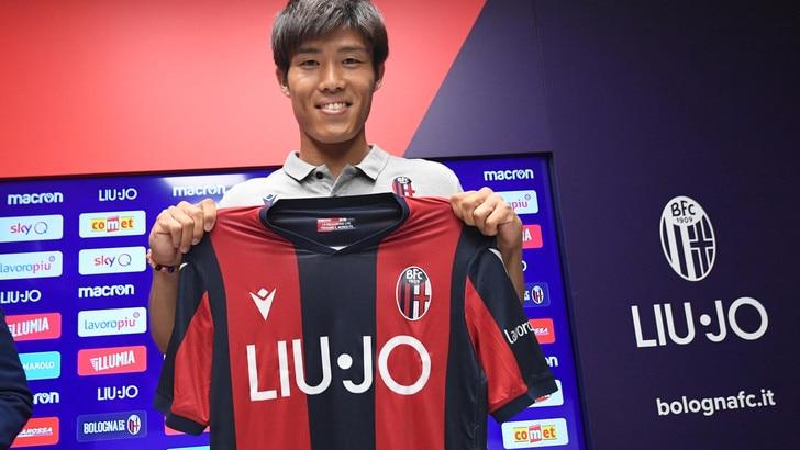 Bologna, ecco Tomiyasu: