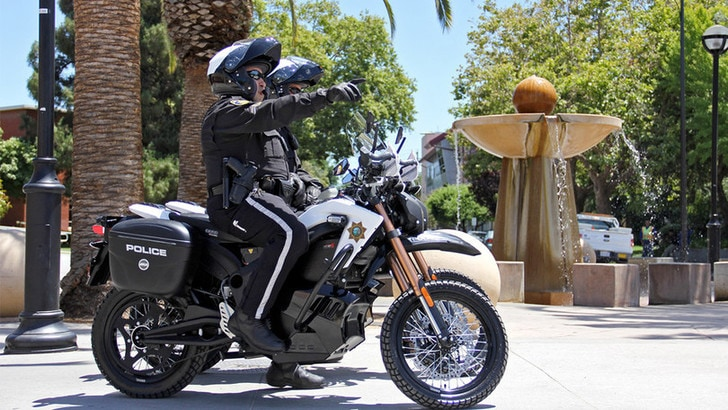 Stati Uniti, le moto elettriche si diffondono in polizia