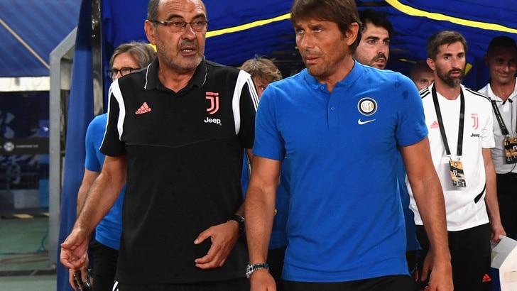 Diretta Inter-Juventus ore 20.45: come vederla in tv e formazioni ufficiali