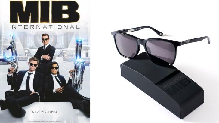 """""""Men in Black: International"""". L'occhiale scuro è firmato Police"""