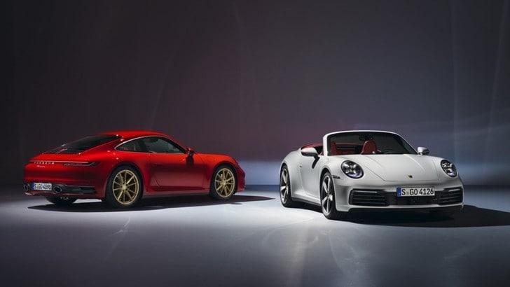 Nuova Porsche 911 Carrera, sulla scia della 992