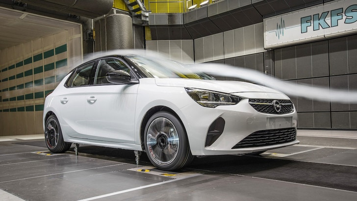 Nuova Opel Corsa, aerodinamica all'avanguardia