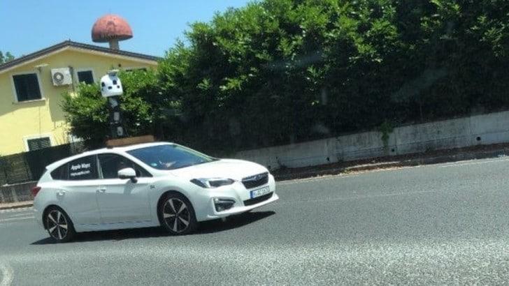 Subaru Levorg Apple: le auto in Italia per il nuovo Maps