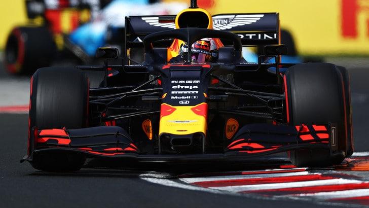Verstappen prima pole in carriera al Gp d'Ungheria: Leclerc quarto