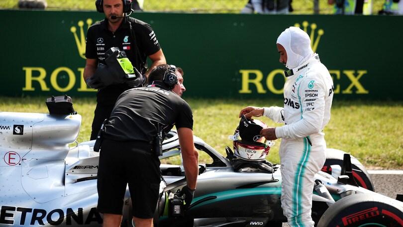 """Gp Ungheria, Hamilton: """"Volevo la pole ma sono pronto a rimontare"""""""