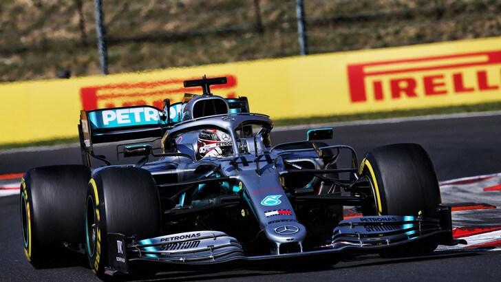 Gp Ungheria, Hamilton beffa Verstappen: Vettel terzo davanti a Leclerc